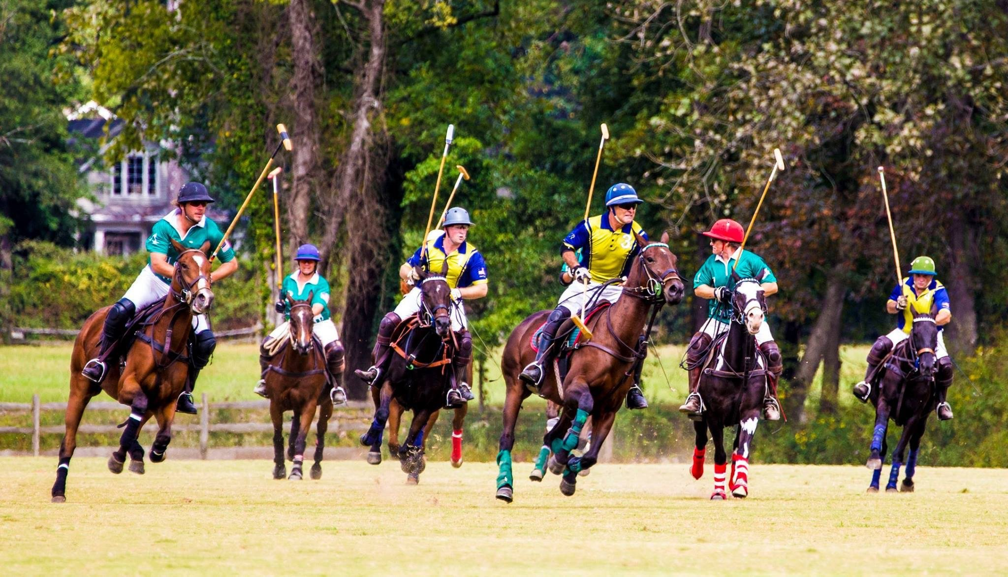Polo in the Pines Charity Event by The Sean O'Keefe