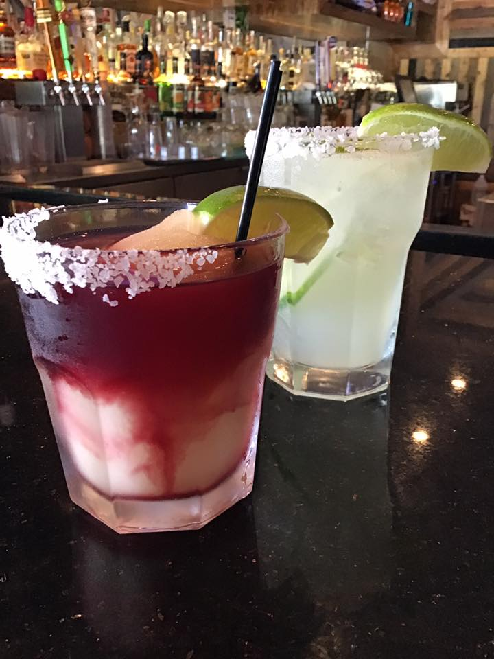 frozen margarita and house made sangria